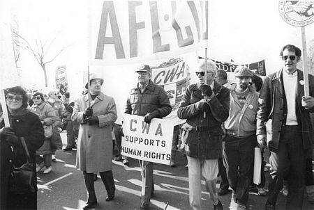 Organized labor rallies for Soviet Jewry (undated)